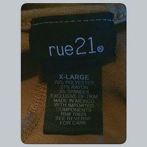Rue21 Tops - Rue21 Dolman Sleeve Beaded Trim Top XL